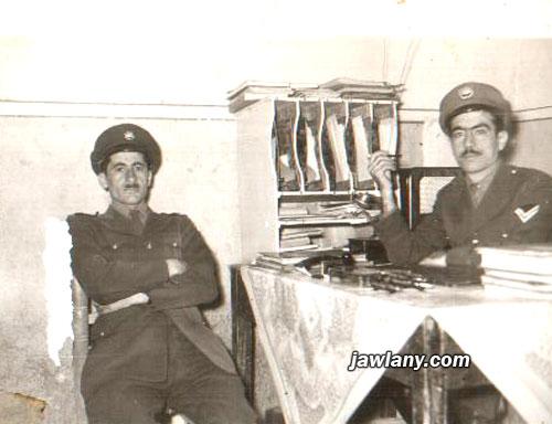 أرسلت من قبل السيد حسان محمود التقطت عام 1959 في الصورة من اليسار المرحوم سليم محمود