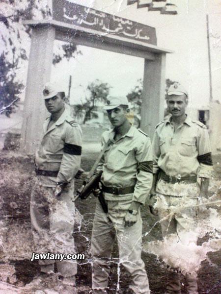 أرسلت من يوسف ابراهيم التقطت في العام 1965. يظهر في الصورة (الأمام) هايل ابراهيم (كرمه)