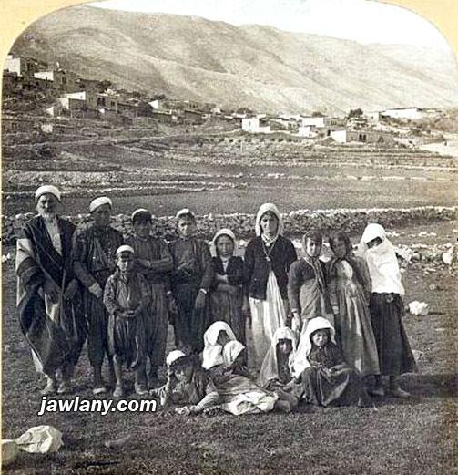 صورة نادرة لعائلة من مجدل شمس التقطت عام 1901 أرسلت من قبل الصديق الدكتور غسان فريد أبو جبل هل تعرف من هي العائلة في الصورة؟