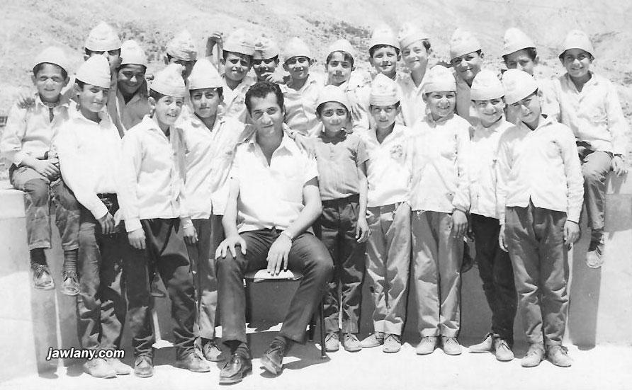 صورة لطالبات مدرسة من مجدل شمس التقطت أثناء رحلة مدرسية.